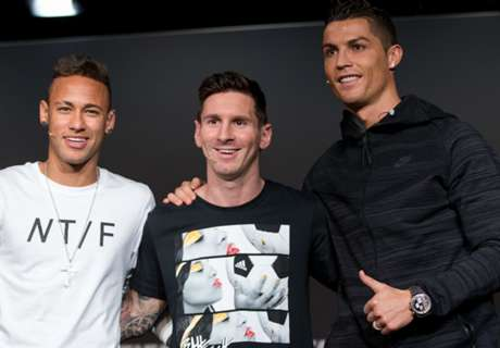 Neymar: Messi for Ballon d'Or