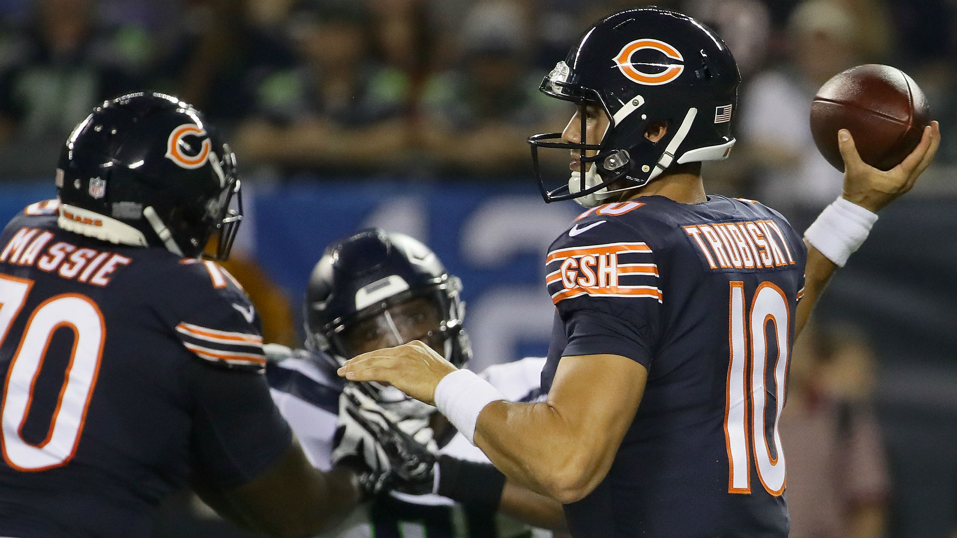 Seahawks DE Frank Clark on Bears QB Mitchell Trubisky: 'Nothing special'