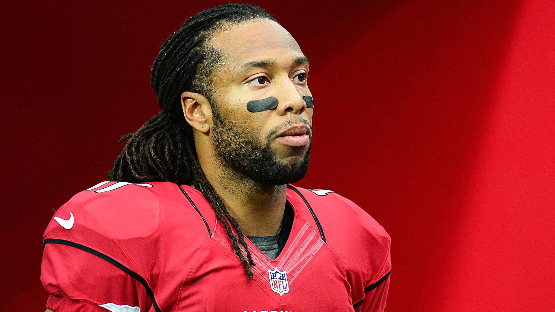 Larry Fitzgerald fights back tears after drops, blowout loss to ... Cardinals Football Fitzgerald