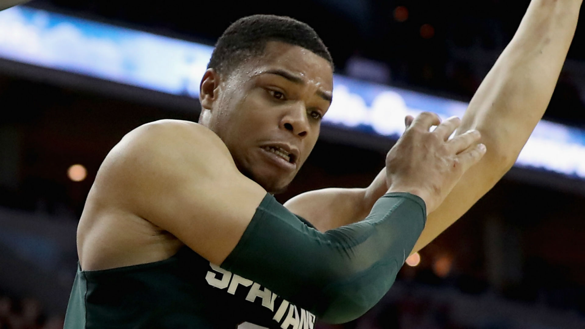 Michigan State's Miles Bridges chooses to stay in school