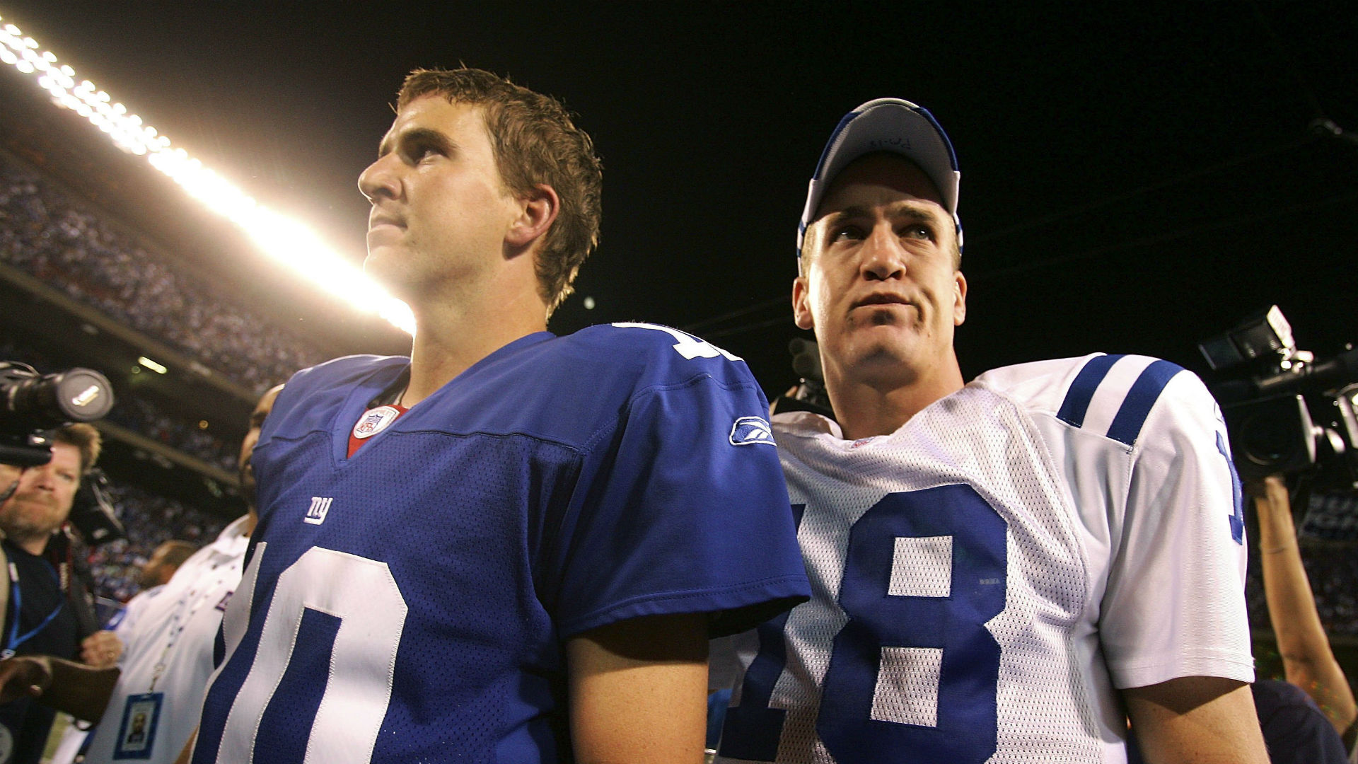 Eli Manning has 'no inside scoop' about Peyton Manning-to-Jets rumors