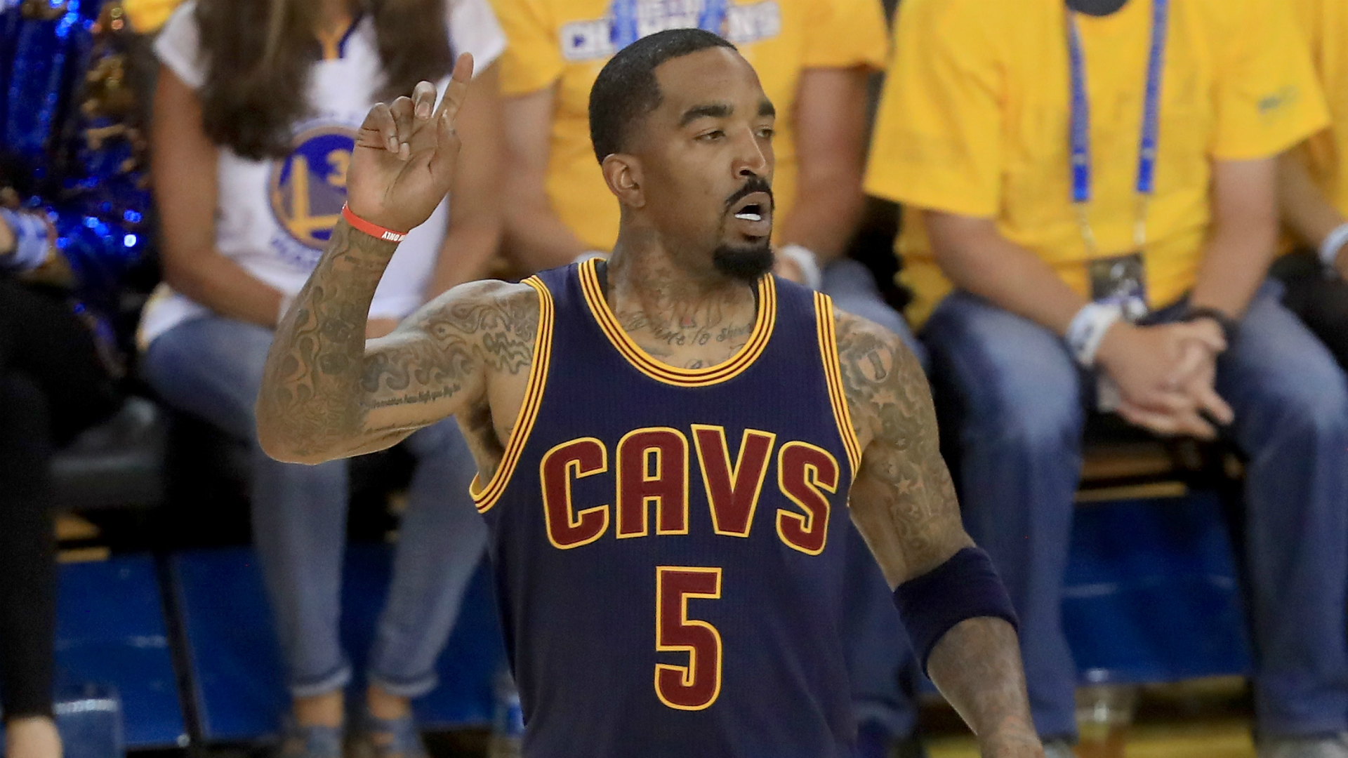 JR Smith Vows To Protect King James: 'I'm One Of His Knights'
