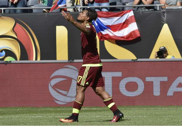 Jamaica 0-1 Venezuela: Martinez gets Vinotinto off the mark
