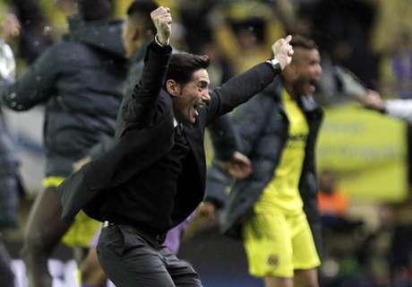 Marcelino: Villarreal weren't lucky