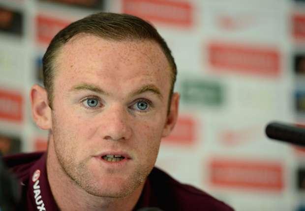 Wayne Rooney, compareciendo en rueda de prensa