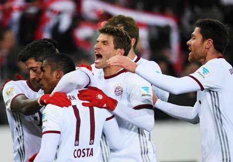 Lewandowski Antar Bayern Menang