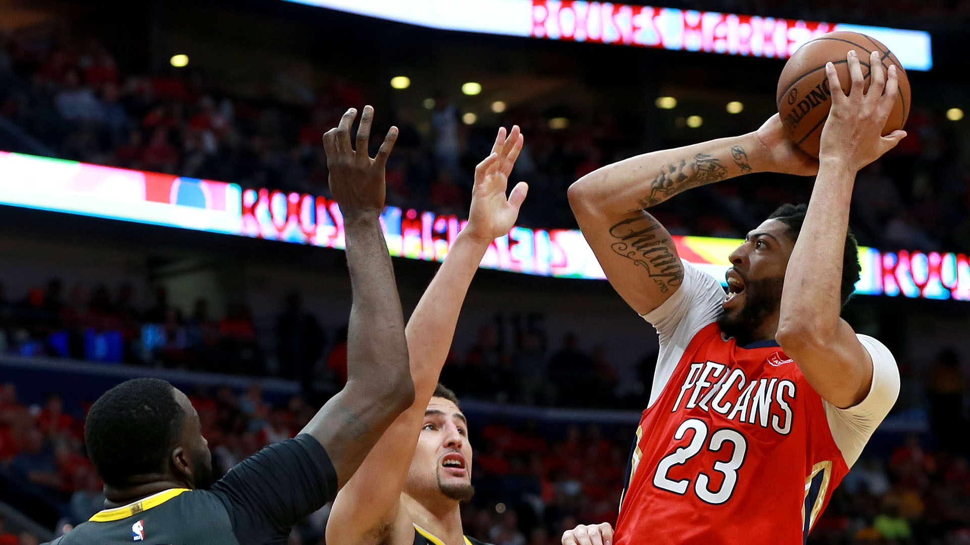 NBA playoffs wrap 2018: Pelicans, Rockets dominate, make both series 2-1
