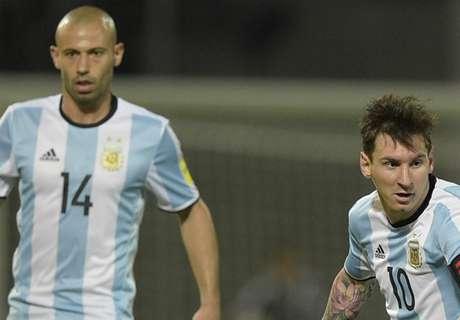 Mascherano: Messi retirement 'a sin'