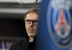 Paris Saint-Germain coach Laurent Blanc