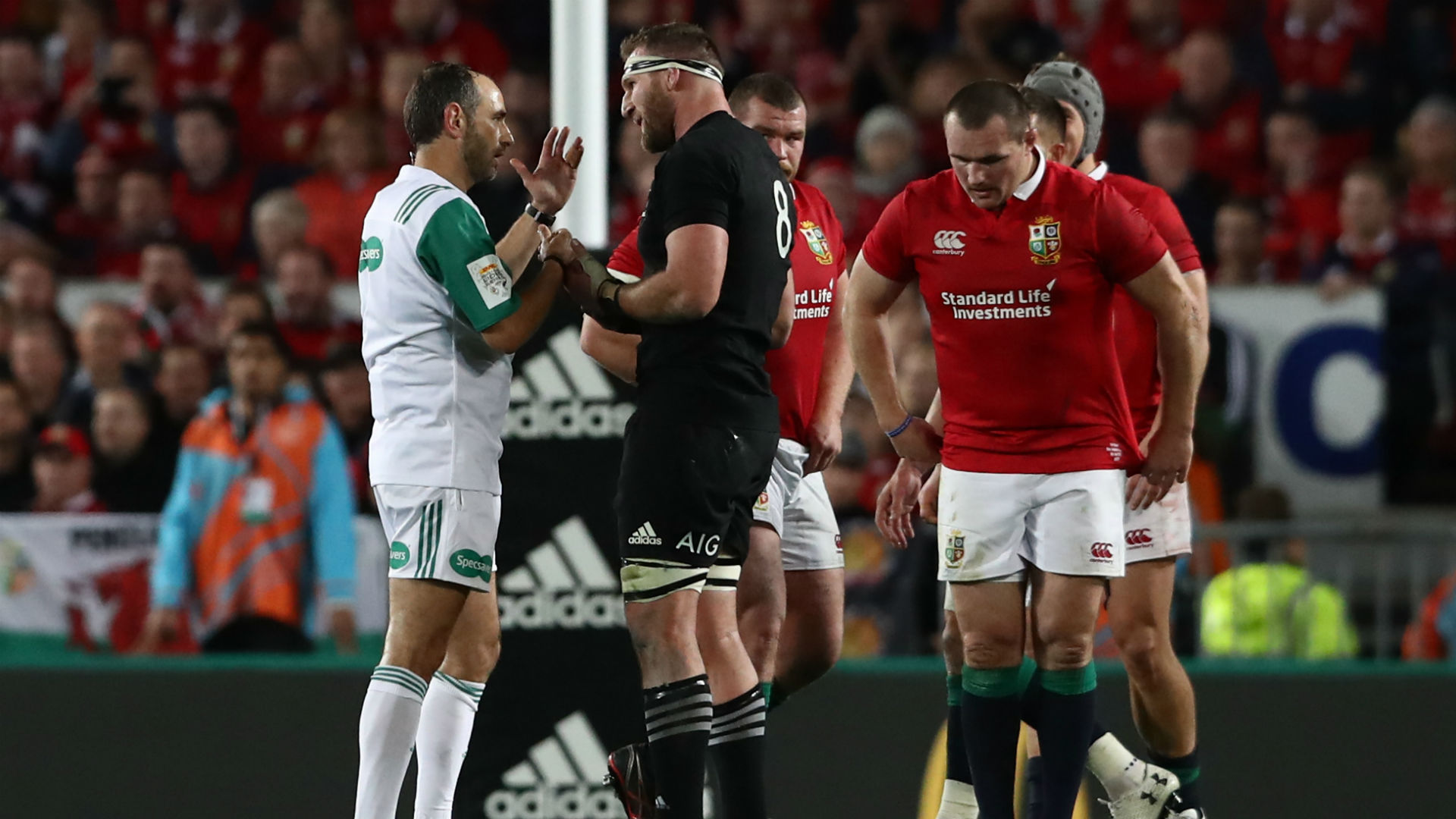 All Blacks avoid controversial French referee Romain Poite at Rugby Championship