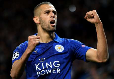 Slimani & Amartey star for Leicester