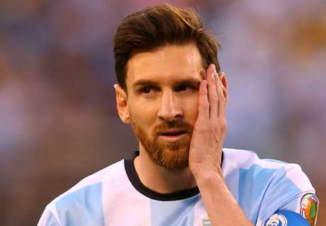 Messi 'unlucky' with Argentina - Crespo