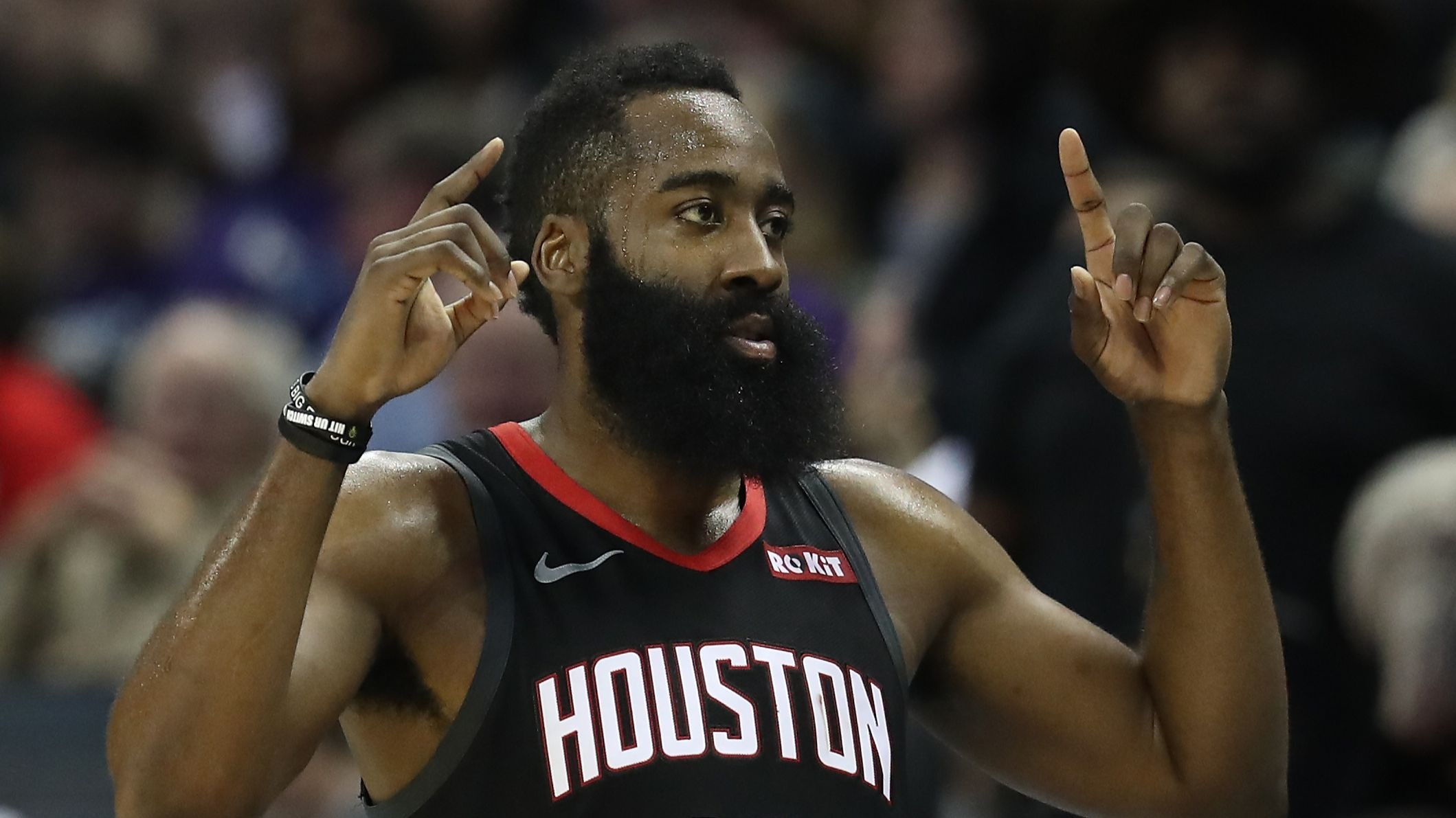 Houston Rockets inspired by James Harden