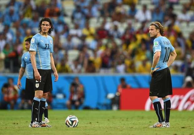 Forlan and Cavani: Uruguayan pedigree can see off England