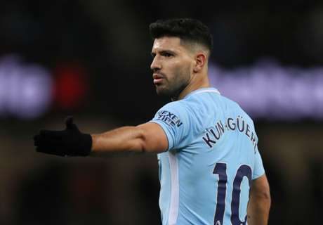 Aguero playing through pain barrier for Man City
