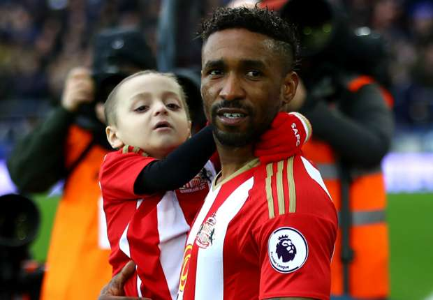 'Sleep tight little one' – Defoe in emotional tribute to 'best friend' Bradley Lowery