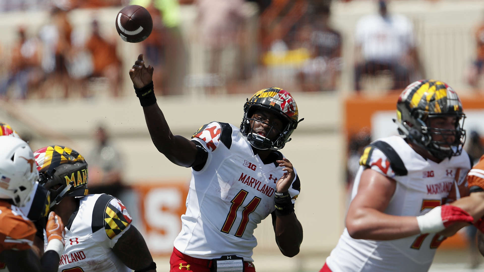 Maryland Terrapins having the worst luck with quarterbacks this season