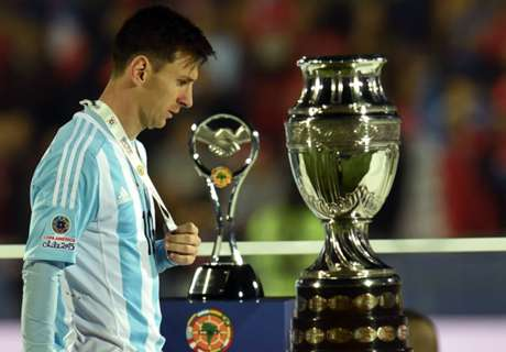 Copa loss a turning point - Messi