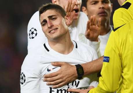 Verratti faz cobrança ao Barça