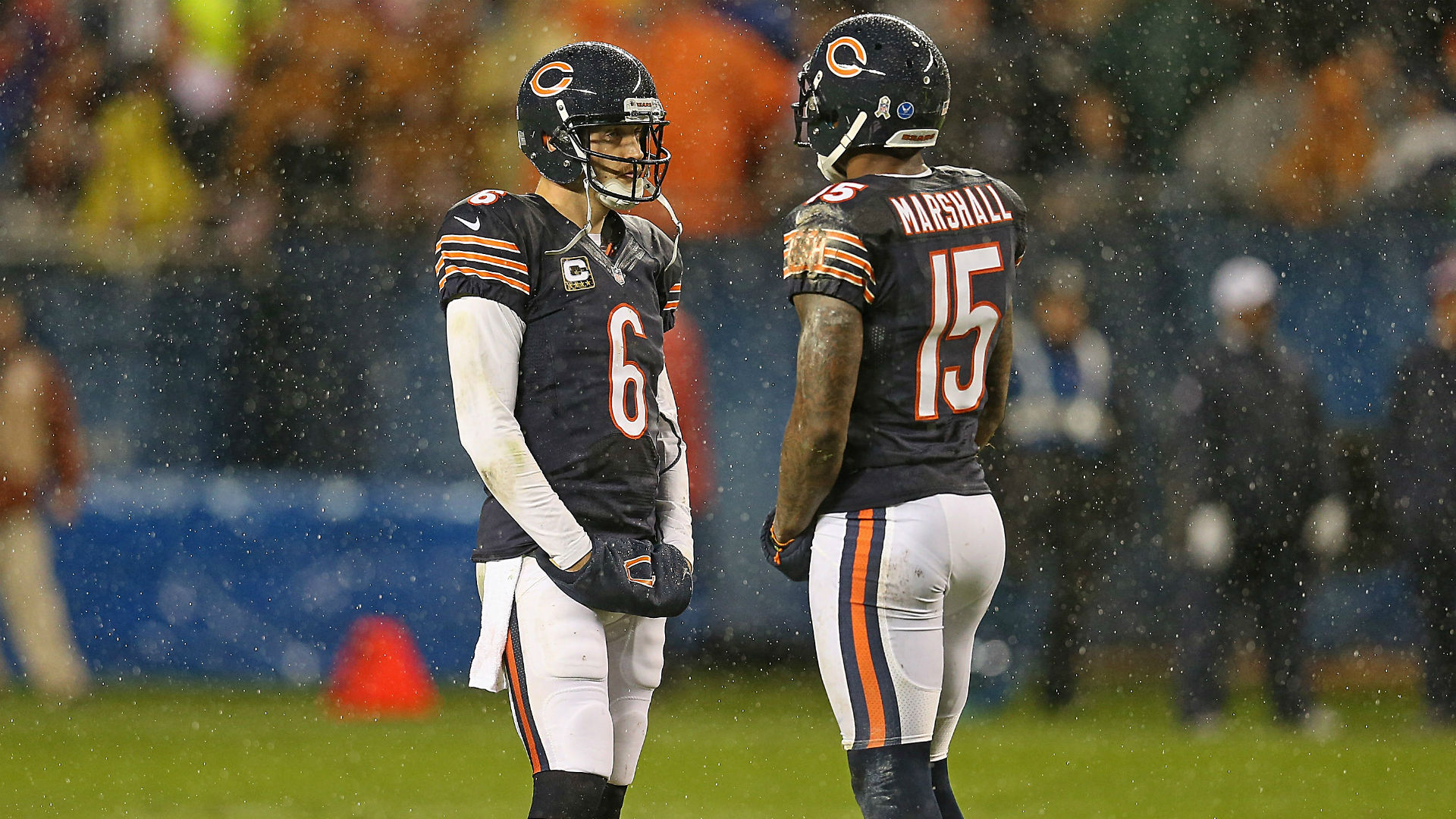 Jay Cutler on Brandon Marshall: 'No one likes their ex after a breakup'