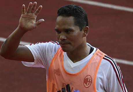 Bacca left out of Milan squad