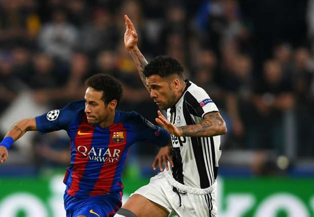 Juventus must try to score against Barca at Camp Nou, insists Dani Alves