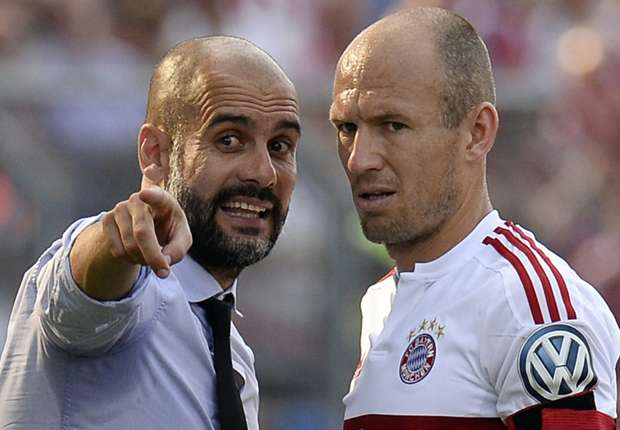'You can see his handwriting' - Robben confident Guardiola will succeed at Manchester City