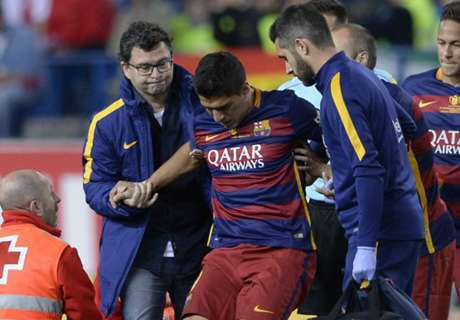 Suarez in dark over injury