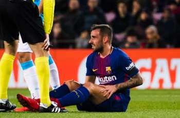 Barcelona lose Alcacer for El Clasico