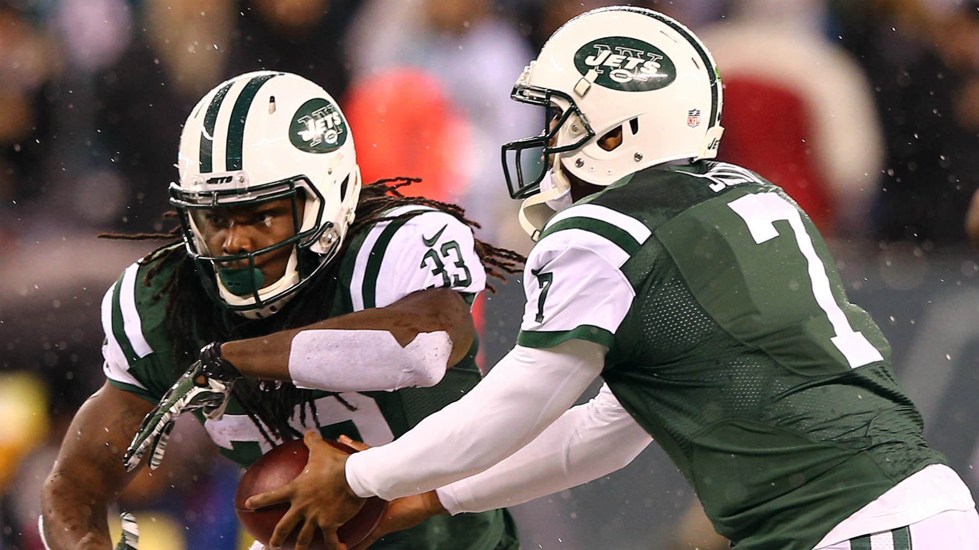 A New York Jets veteran said the team's management has quit on the season.