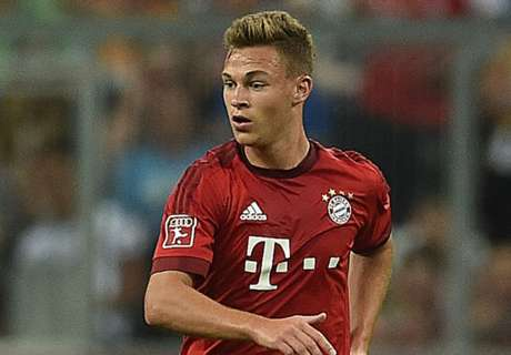 Kimmich deserves to play more - Pep