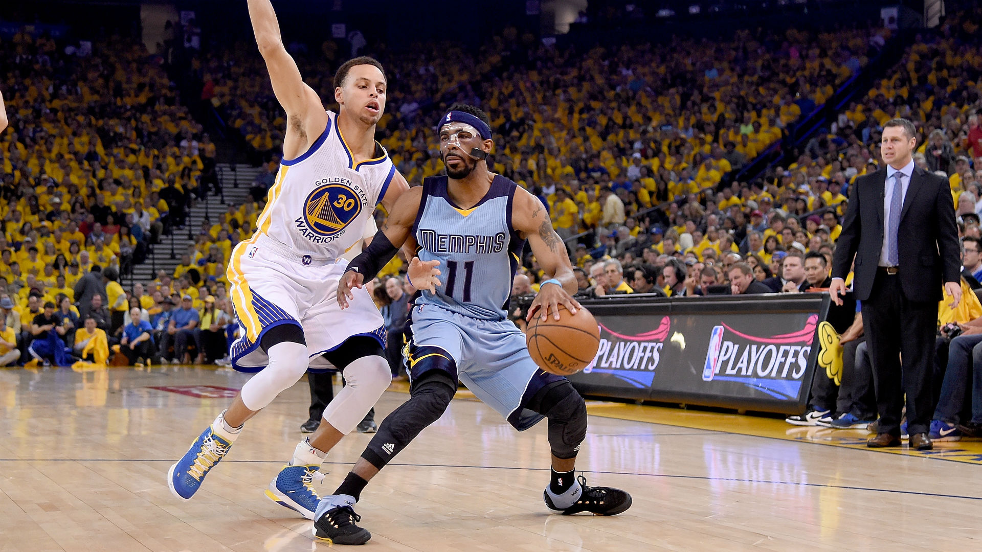 Mike Conley's return keys Grizzlies' Game 2 win over Warriors
