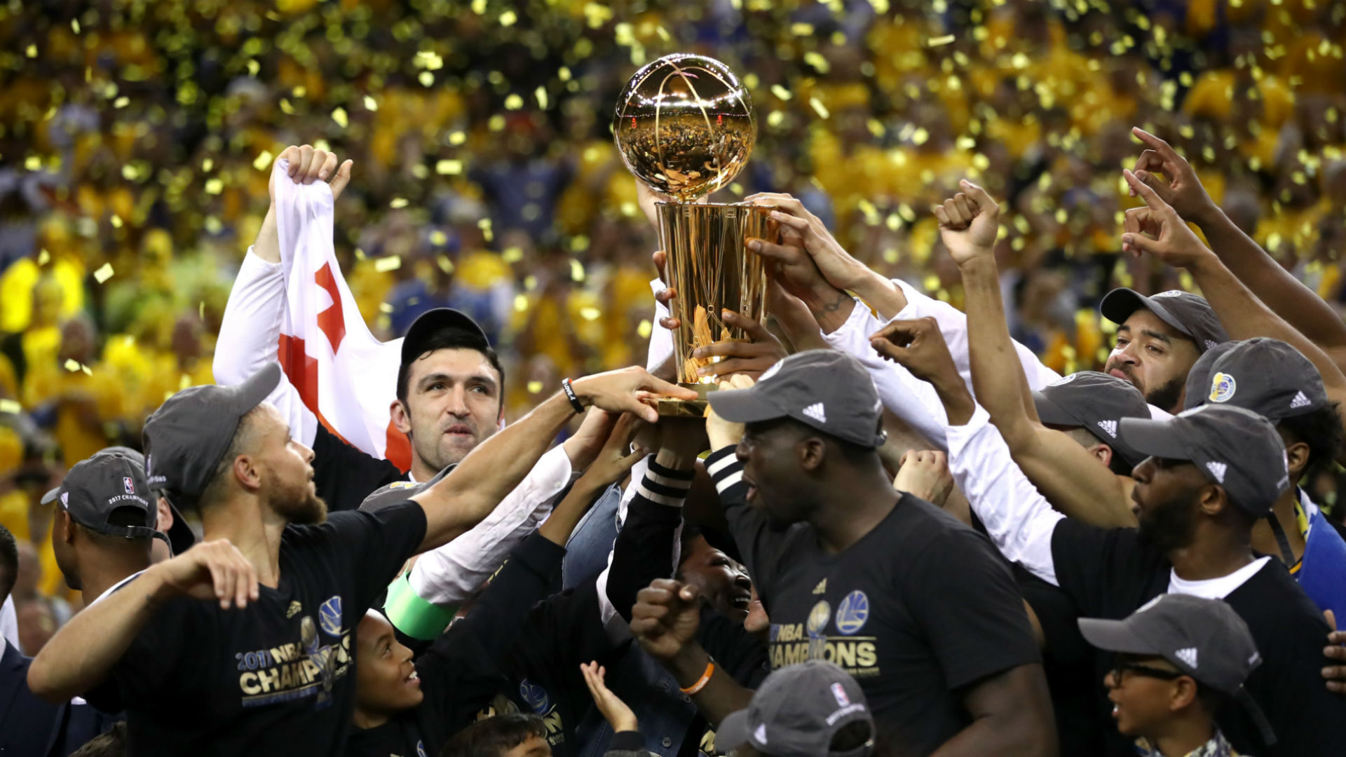 Warriors beat Cavs 129-120 to win National Basketball Association  title