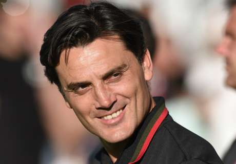 Montella encouraged by Milan