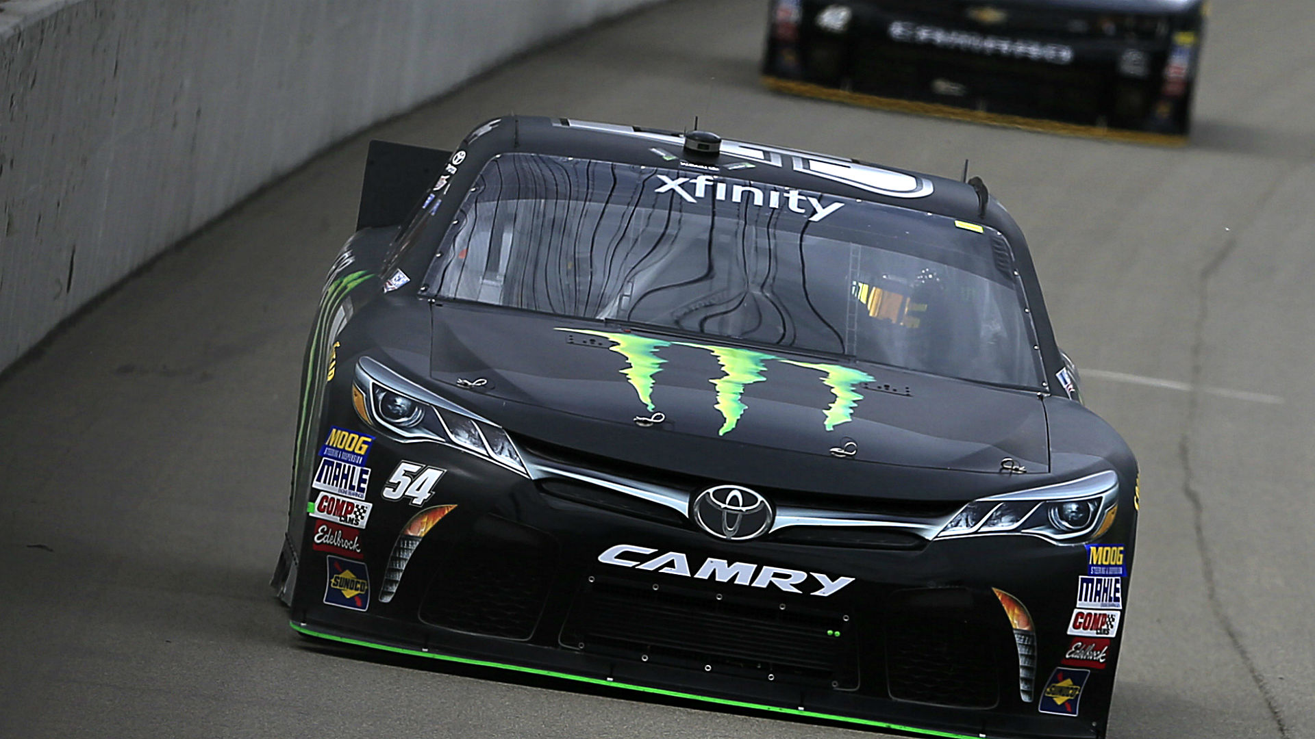 Xfinity results kyle busch makes overtime pass to win at bristol nascar sporting news