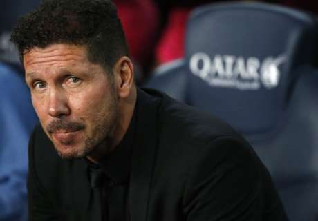 Simeone happy with Atletico