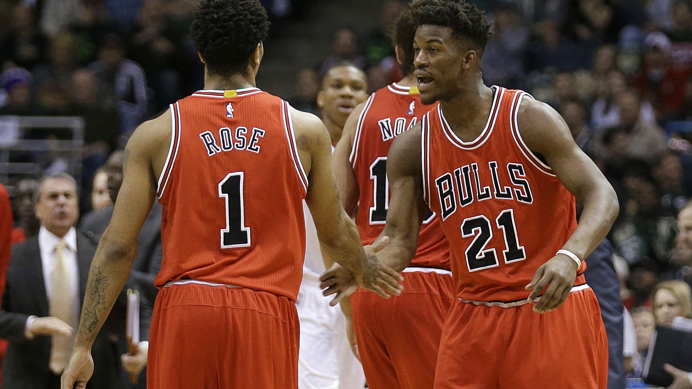 ccaa3460f43 NBA playoffs roundup  Bulls blast Bucks to advance