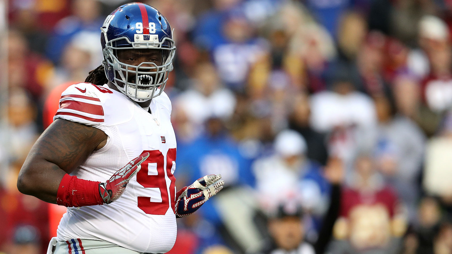 Giants DL Damon Harrison says cool off on Michael Irvin s