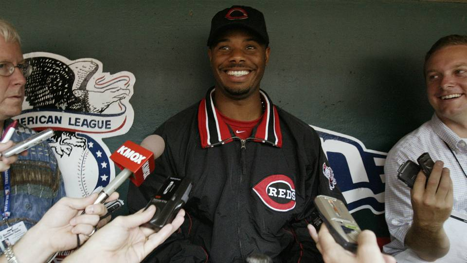 Ken Griffey Jr. in 2004