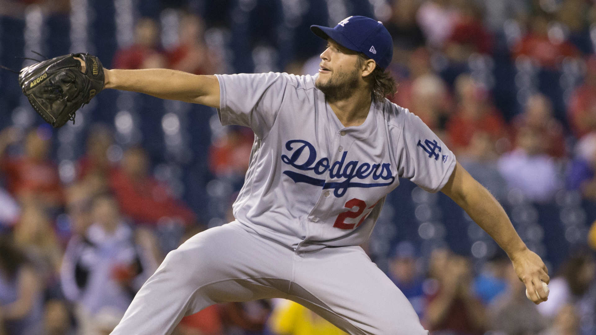 Clayton Kershaw gives up 1st grand slam, loses to Phillies