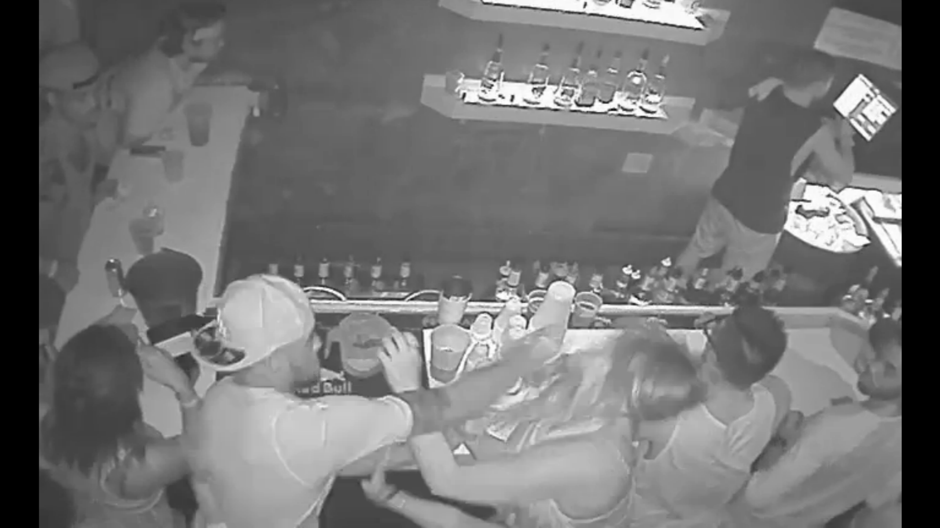 Video shows FSU QB De'Andre Johnson punching woman at a bar
