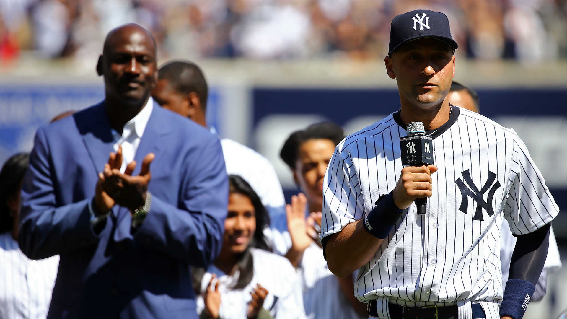 Derek Jeter and Michael Jordan are close to purchasing the Miami Marlins
