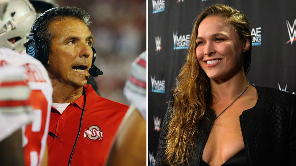 This Week in U.S. Sports: Urban Meyer suspended, Ronda Rousey crowned