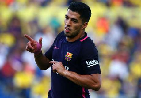 Barca dealt Suarez injury blow