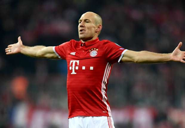 Bayern were determined to finish Arsenal off, says surprised Robben