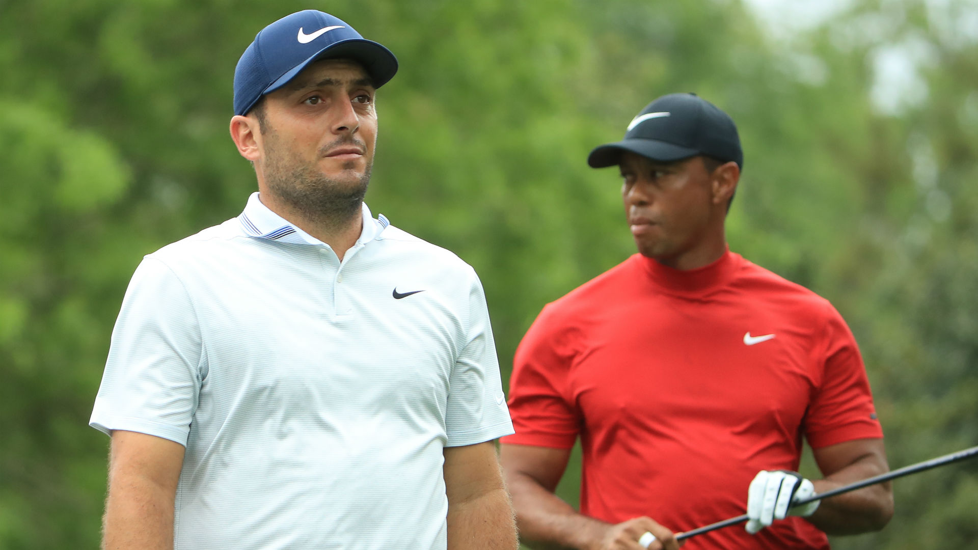 Masters 2019: Francesco Molinari one clear of Tiger Woods with 9 to play