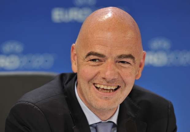 Uefa endorses Infantino as its Fifa presidential candidate