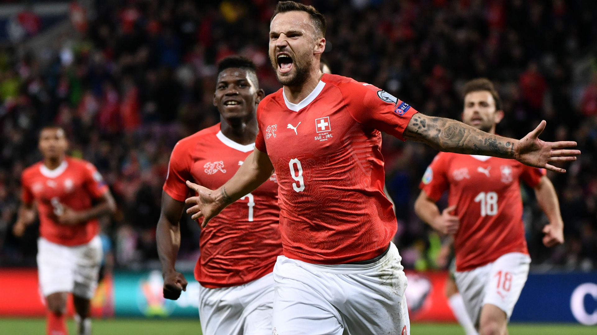 Switzerland 2-0 Republic of Ireland: Swiss dent Irish Euro 2020 hopes