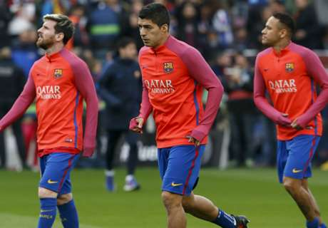 Barcelona give MSN early Xmas break