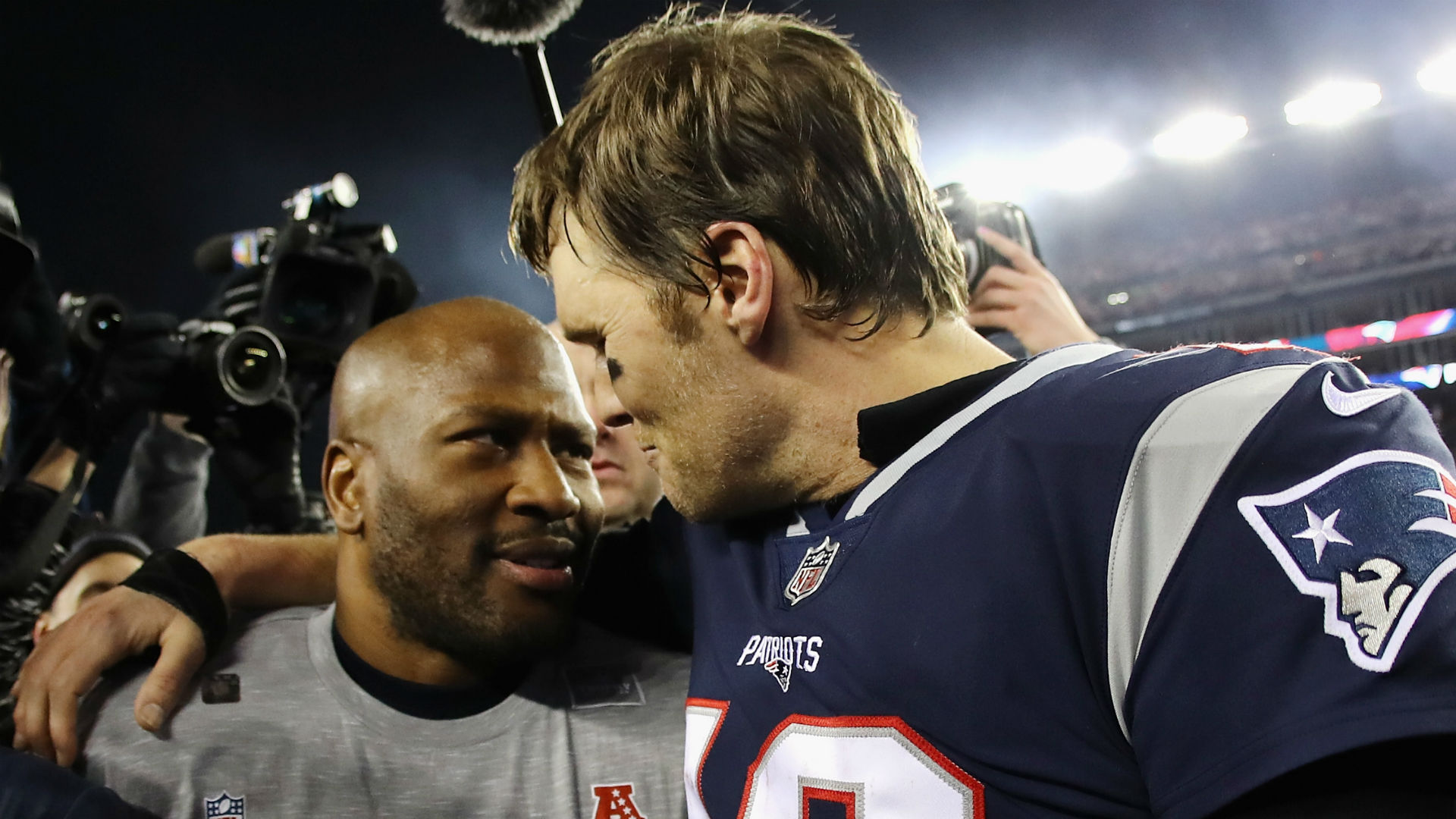 James Harrison admits he initially wanted to hate Tom Brady